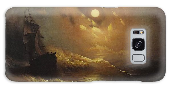 Ship At Sea Galaxy Case by Rembrandt