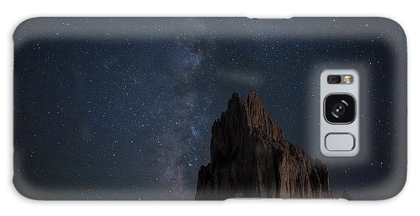 Shiprock Galaxy Case by Keith Kapple