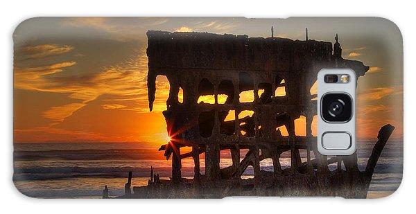 Peter Iredale Galaxy Case - Shipwreck Sunburst by Mark Kiver
