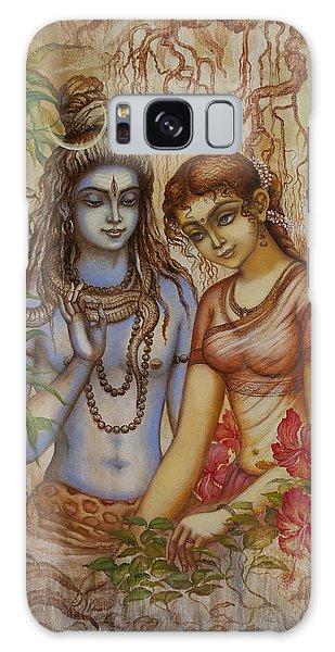 Shiva And Parvati Galaxy Case