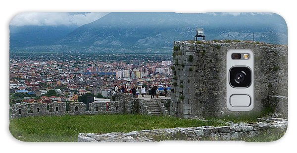 Shkoder From Rozafa Castle - Albania Galaxy Case