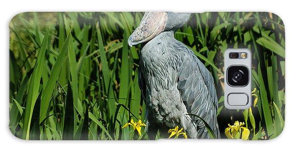 Shoebill Stork Galaxy Case