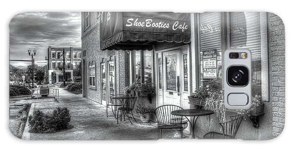 Shoebooties Cafe Galaxy Case