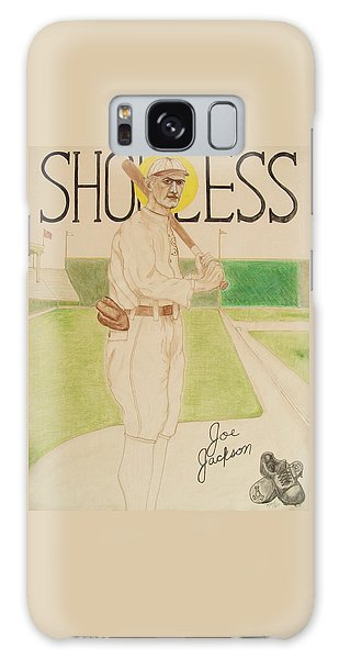 Shoeless Joe Jackson Galaxy Case by Rand Swift