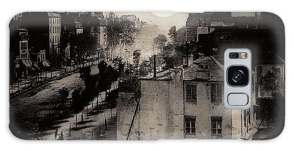 Shoeshine On The Boulevard Du Temple 1838  Paris Galaxy Case