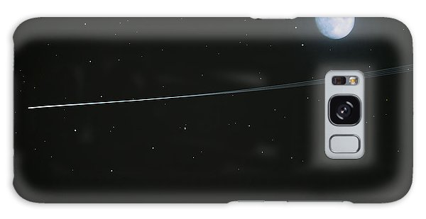 Shooting Star Galaxy Case by Pete Trenholm