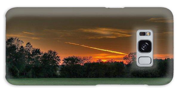 Shooting Sunset Galaxy Case