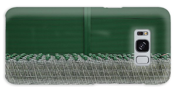 Cart Galaxy Case - Shopping Trolleys by Inge Schuster