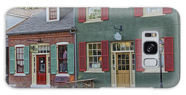 Shops S Main St Charles Mo Dsc00886  Galaxy Case by Greg Kluempers