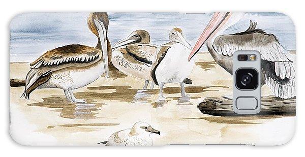 Shore Birds Galaxy Case