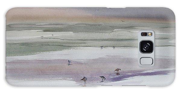 Shoreline Birds II Galaxy Case