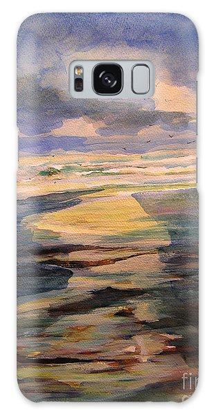 Shoreline Sunrise 11-9-14 Galaxy Case
