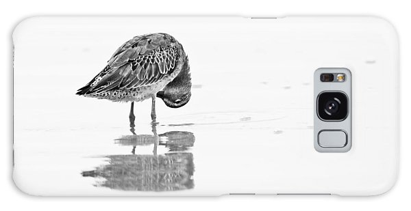 Short Billed Dowitcher Galaxy Case