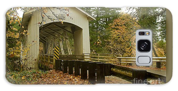 Short Covered Bridge Galaxy Case by Nick  Boren