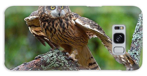 Short Eared Owl Galaxy Case