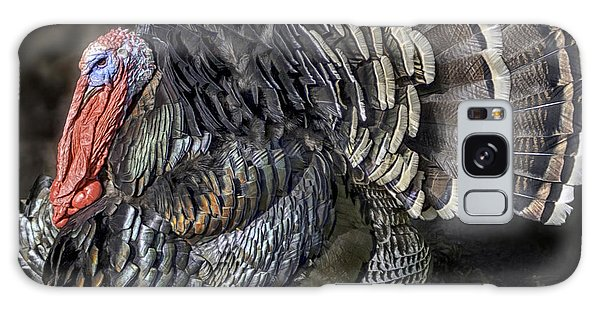 Short Feathers Tom Galaxy Case by Lynn Palmer