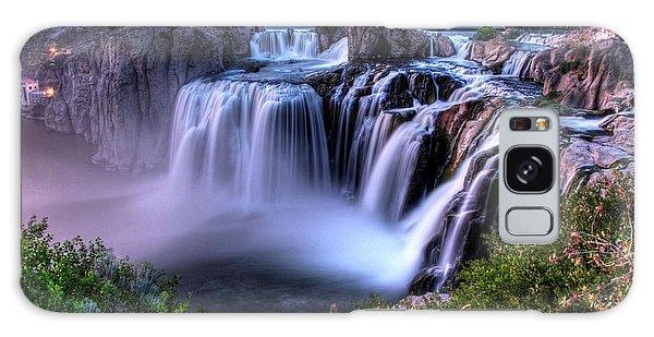 Shoshone Falls Galaxy Case by David Andersen