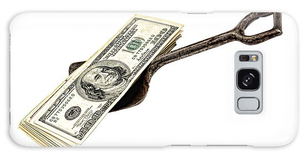 Hundred Galaxy Case - Shovel Of Dollar by Olivier Le Queinec