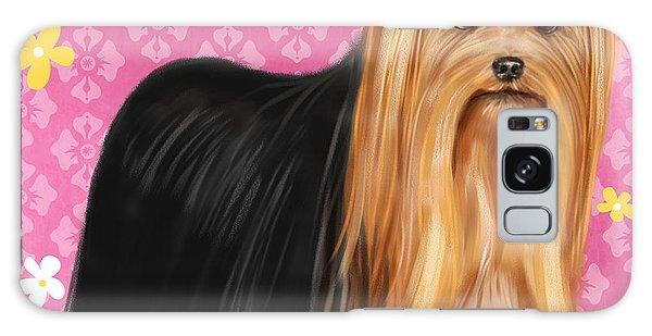 Show Dog Yorkshire Terrier Galaxy Case