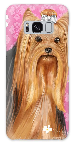 Show Dog Yorkshire Terrier Galaxy Case
