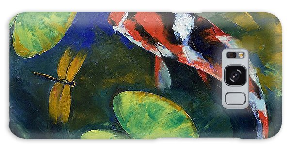 Collectibles Galaxy Case - Showa Koi And Dragonfly by Michael Creese