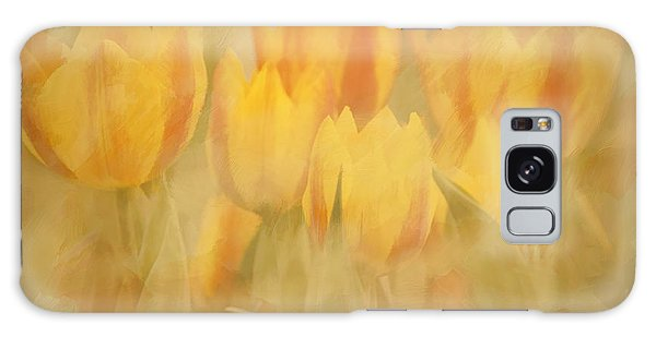 Showtime Tulips Galaxy Case by Linda Blair