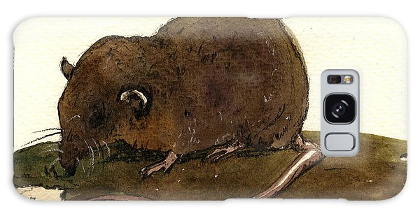 Mouse Galaxy Case - Shrew Mouse by Juan  Bosco