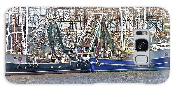 Shrimp Boats 1 Port Arthur Texas Galaxy Case by D Wallace