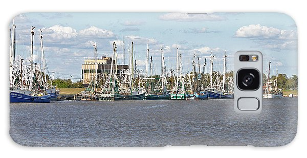 Shrimp Boats 2 Port Arthur Texas Galaxy Case by D Wallace