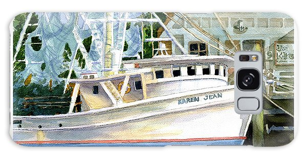 Shrimper Karen Jean Galaxy Case