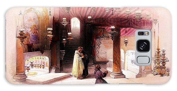 Shrine Of The Nativity Bethlehem April 6th 1839 Galaxy Case by Munir Alawi