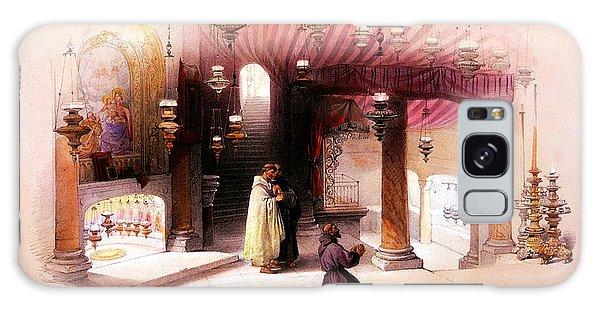 Bethlehem Galaxy Case - Shrine Of The Nativity Bethlehem April 6th 1839 by Munir Alawi