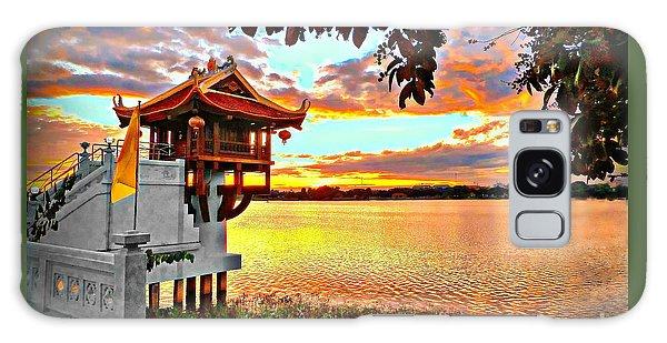 Shrine On The Lake. Galaxy Case
