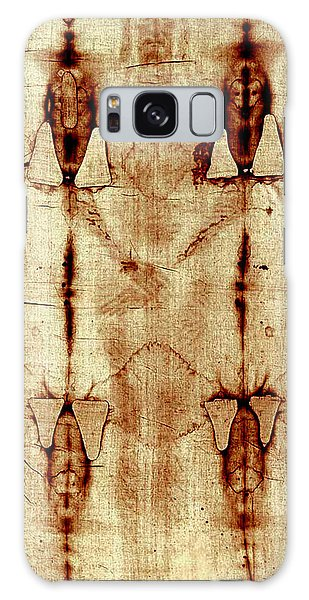 Shroud Of Turin Galaxy Case by A Samuel