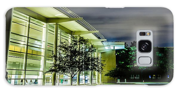 Shs Lower Cafeteria At Night Galaxy Case by Alan Marlowe