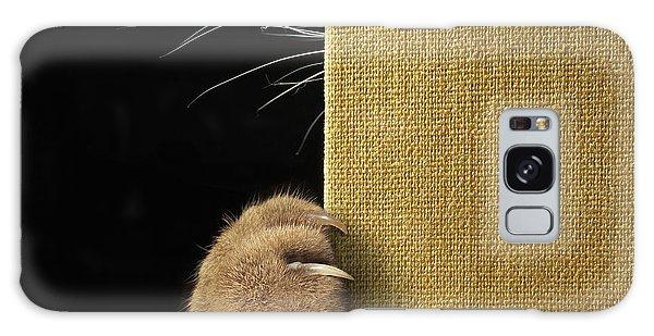 Claws Galaxy Case - Shy Cat ... by Iryna Kuznetsova (iridi)
