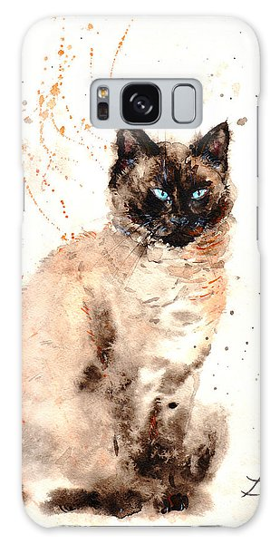 Siamese Beauty Galaxy Case by Zaira Dzhaubaeva