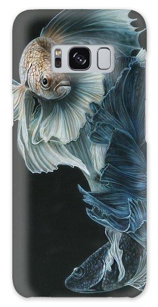Iridescent Galaxy Case - Siamese Fighting Fish Three by Wayne Pruse