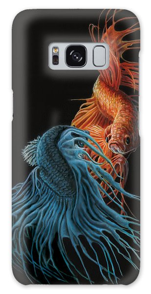 Siamese Fighting Fish Two Galaxy Case