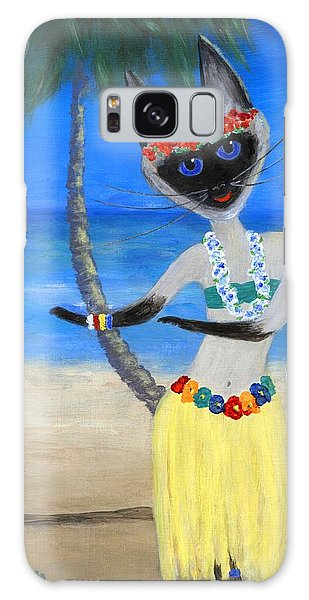 Siamese Queen Of Hawaii Galaxy Case by Jamie Frier