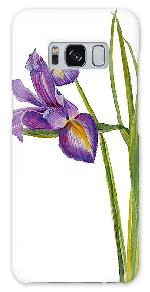 Siberian Iris - Iris Sibirica Galaxy Case