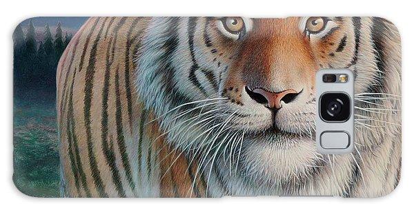 Zoofari Poster The Siberian Tiger Galaxy Case by Hans Droog