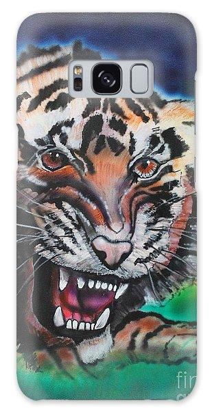 Siberian Tigers Galaxy Case