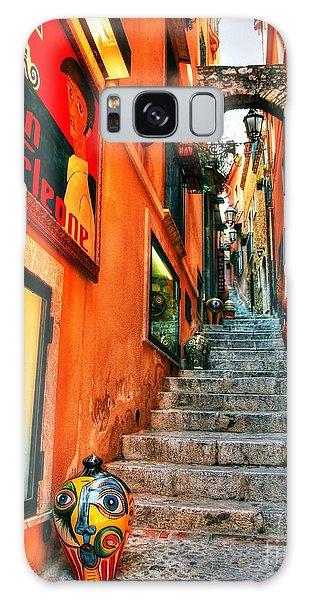 Sicilian Steps Galaxy Case