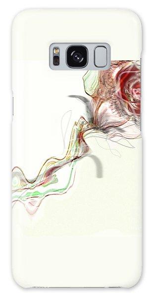 Side Rose Galaxy Case by Gabrielle Schertz