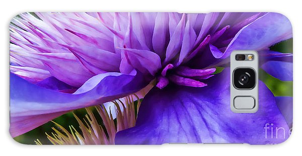 Side View Clematis Galaxy Case