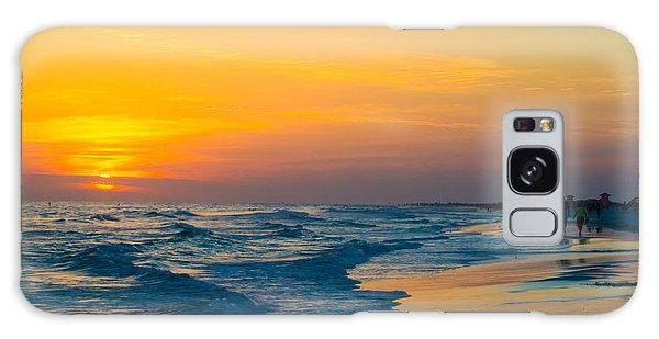 Siesta Key Sunset Walk Galaxy Case