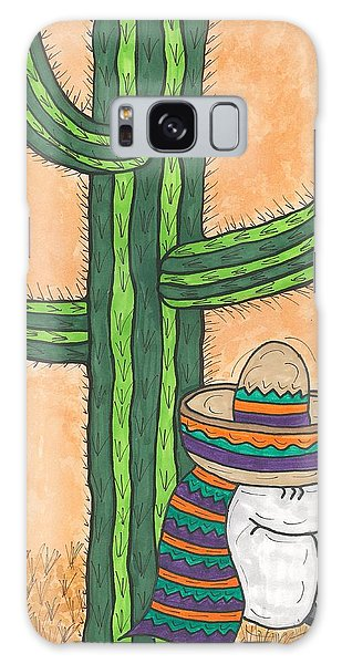 Siesta Saguaro Cactus Time Galaxy Case by Susie Weber