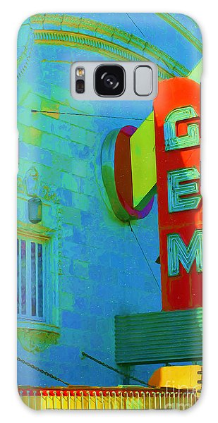 Sign - Gem Theater - Jazz District  Galaxy Case