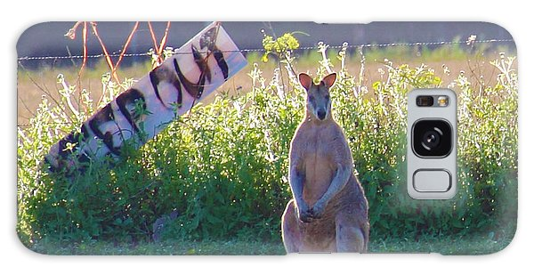 Galaxy Case featuring the photograph Signs  by Debbie Cundy